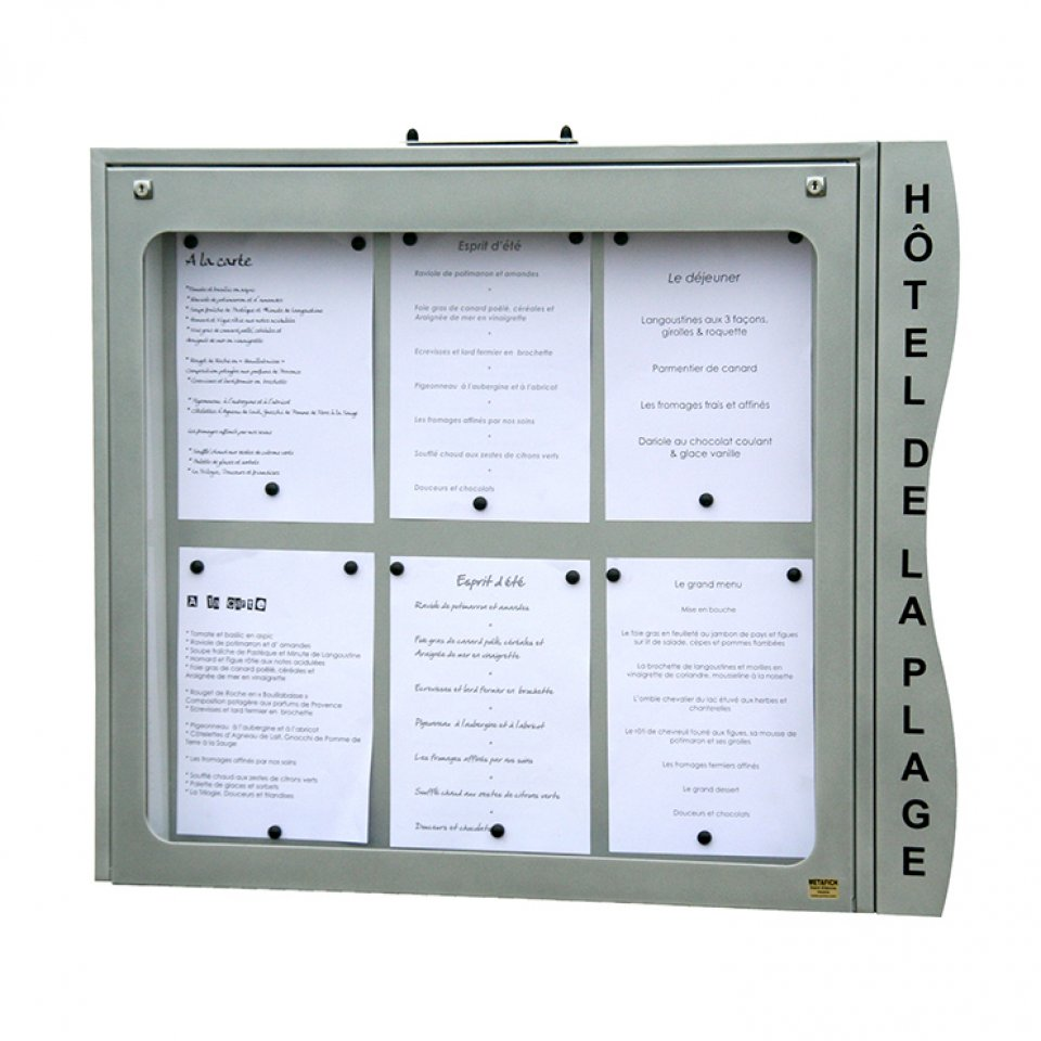 Menus et services porte menu ext rieur anjou for Porte menu exterieur